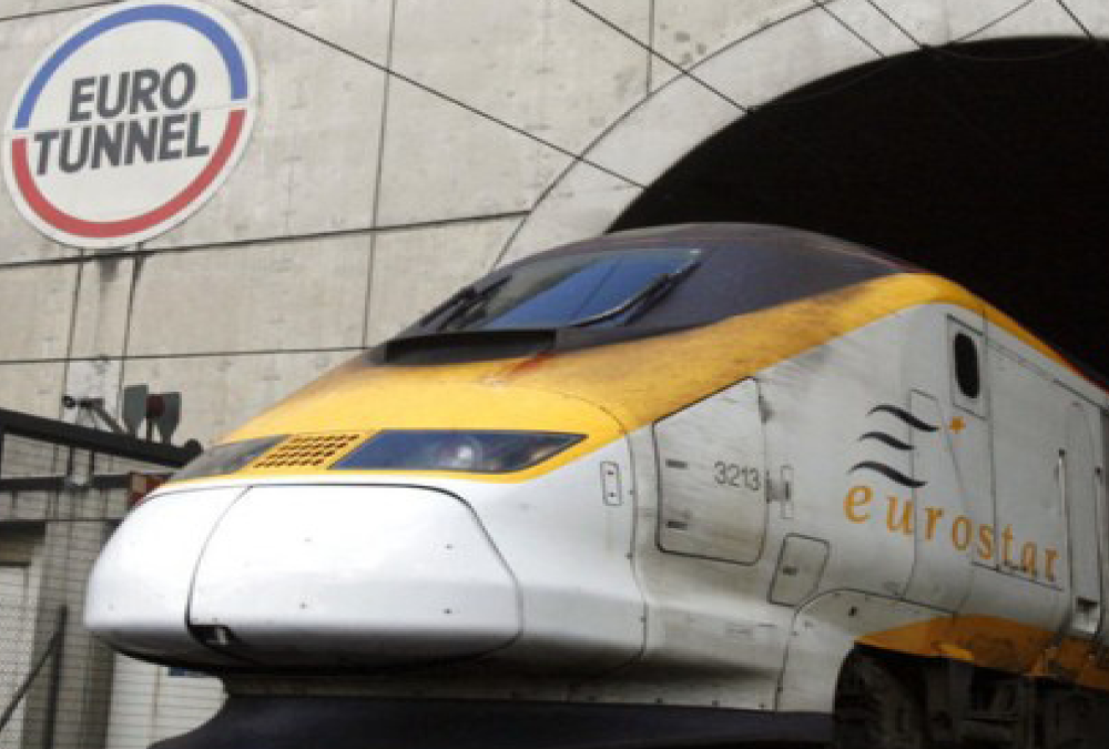 channel tunnel project High speed 1, the new high-speed rail line halved travel time between london & the channel tunnel & chopped 35 minutes off trips to paris and brussels.