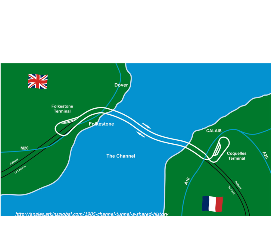 channel tunnel project 1 scopethis paper describes the channel tunnel's (ct) turbulent past, from the problems encountered in the late 1950s, when the project was first seriously examined, through to today's traffic levels and financial.